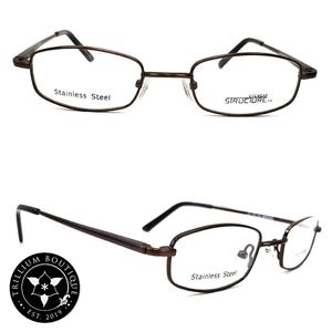 Structure Eyewear Structure T Brown Glasses Frames